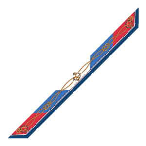 Bandeaux 86x6cm Corda Blu