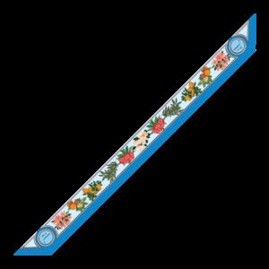 Bandeaux 86x6cm Fiori Blu
